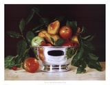 Fruit In a Bowl Of Silver Art by Patrick Farrell