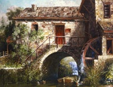 The Old Stone Mill Art by Michael R. Miller