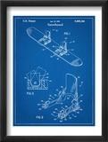 Snowboard Patent Plakát