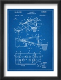Basketball Goal With Backboard Patent 1960 Poster