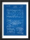 Pinball Machine Patent Plakaty