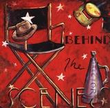 Behind the Scene Posters by Janet Kruskamp