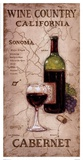 Wine Country II Poster by Janet Kruskamp