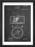 Stock Ticker Patent Plakát