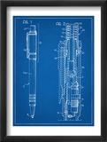 Ballpoint Pen Patent Umělecké plakáty