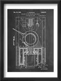 World War II Military Tank Patent Obrazy