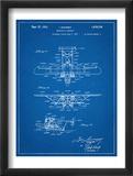 Sikorsky Amphibian Aircraft 1929 Patent Plakát