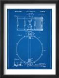Snare Drum Instrument Patent Umělecké plakáty