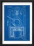 World War II Military Tank Patent Plakát