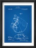 Horse Bridle Patent Plakaty