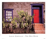 The Red Door Posters by Louis Cantillo