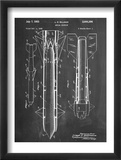 Aerial Missile Patent 1948 Plakaty