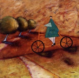 Rolling Home II Print by Stacy Dynan