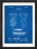 Football Pads Patent Obrazy