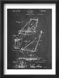 Beach Chair Patent Plakaty