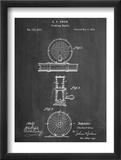 Fishing Reel Patent Poster