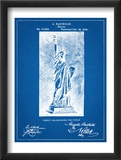 Statue Of Liberty Patent Plakaty