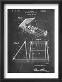 Beach Umbrella Patent 1929 Plakaty