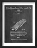 Surf Board Patent Plakát
