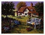Garden Scene Prints by Richard Telford