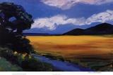 Golden Field Posters by Ann Christensen