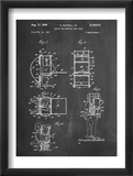 Hiking And Camping Backpack Patent Plakaty