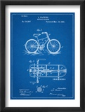 Bicycle Gearing Patent Reprodukcje