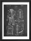 Hiking And Camping Backpack Patent Reprodukce