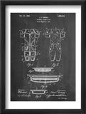 Football Pads Patent Umění