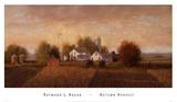 Autumn Harvest Kunstdrucke von Raymond Knaub