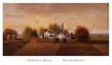 Autumn Harvest Prints by Raymond Knaub