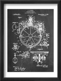 Compass Patent 1918 Plakater
