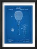 Tennis Racket Patent Obrazy