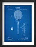 Tennis Racket Patent Schilderijen