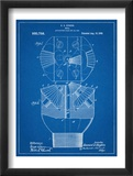 Howard Hughes Drill, Oil Drill Patent Plakat