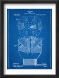 Howard Hughes Drill, Oil Drill Patent Umění