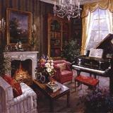 Grand Piano Room Art by Foxwell