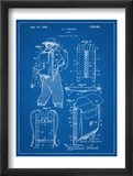 Hiking And Camping Backpack Patent Reprodukcje