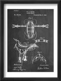 Horse Riding Saddle Patent Reprodukce