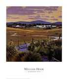 Afternoon Vista Prints by William Hook