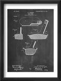 Golf Club Putter Patent Obrazy
