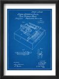 Type Writing Machine Patent Posters