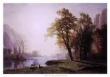 Kings River Canyon, California Prints by Albert Bierstadt