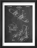 Snowboard Patent Obrazy