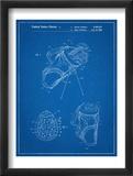 Golf Walking Bag Patent Golf Patent Reprodukcje