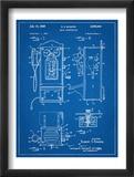 1950's Telephone Patent Reprodukcje
