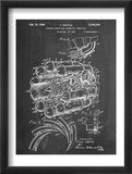 Aircraft Rocket Patent Plakaty