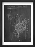 Golf Walking Bag Patent Plakat
