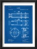 Telescope Vintage Patent 1891 Plakát