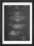 Sikorsky Amphibian Aircraft 1929 Patent Plakater